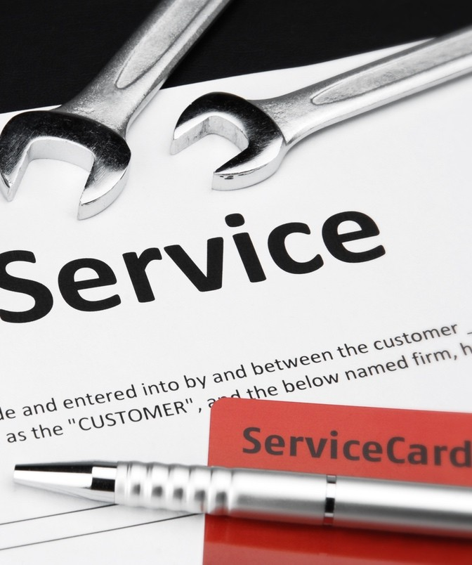 SERVICING AND MAINTENANCE AGREEMENTS